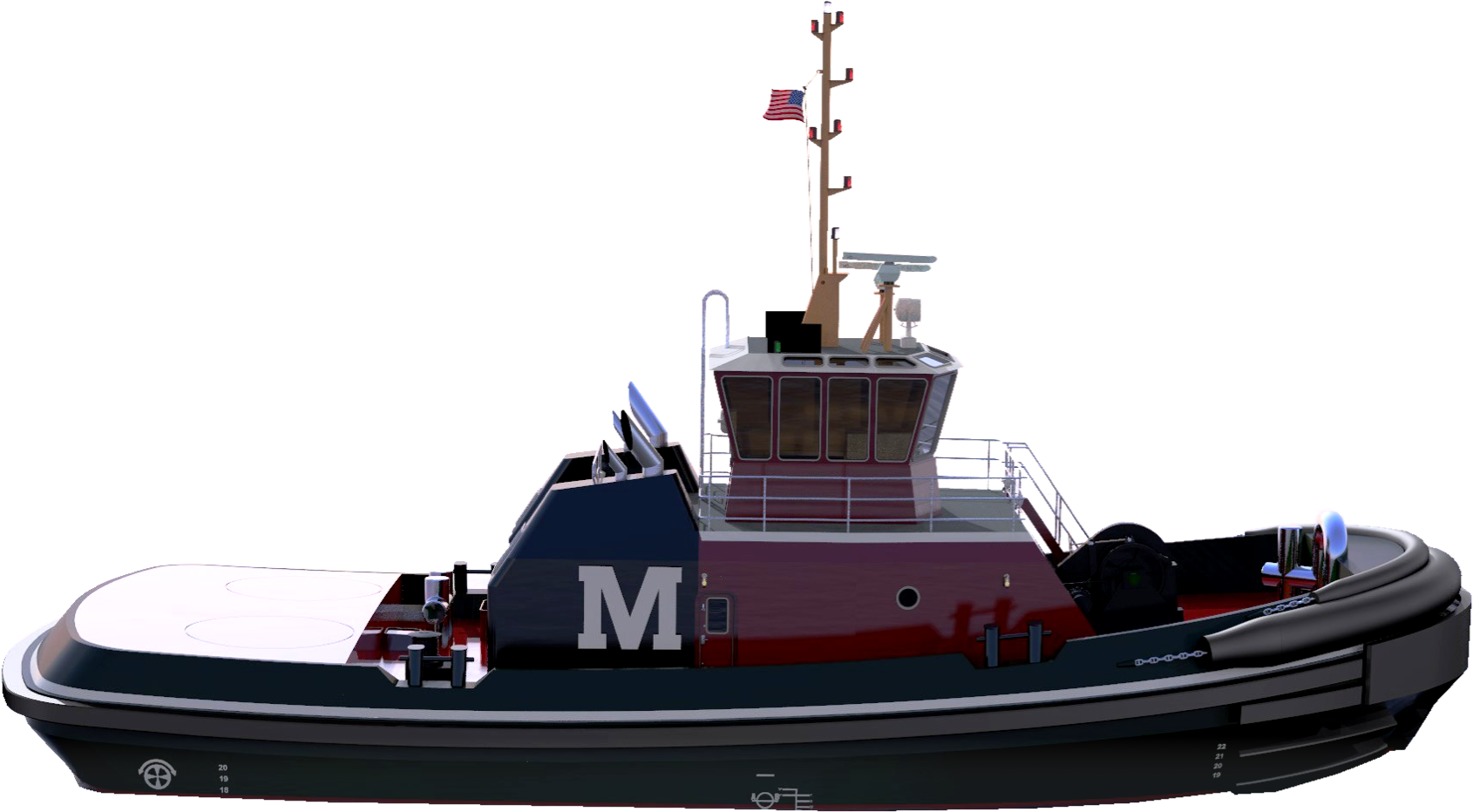 Moran Towing Tugboat